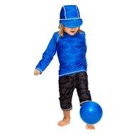 Swimpy - Tricou de baie Fish blue , protectie UV , marime 122-128