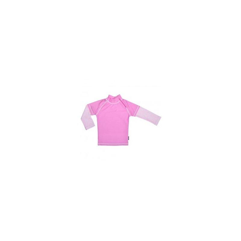 Tricou de baie Pink Ocean marimea 110- 116 protectie UV Swimpy