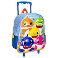 Cerda - Troler pentru copii Premium 3D, 26x31x10 cm Baby Shark