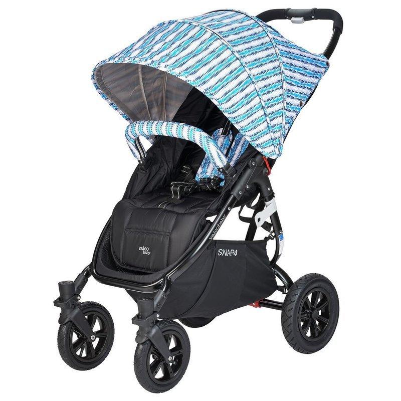 Valco Carucior sport cu roti gonflabile SNAP 4 CZ Edition Blue Stripes din categoria Carucioare copii de la Valco Baby