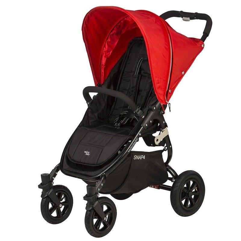 Valco Carucior sport cu roti gonflabile SNAP 4 Red din categoria Carucioare copii de la Valco Baby