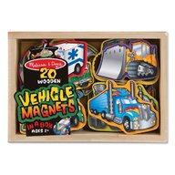 Melissa & Doug - Vehicule cu magneti Melissa and Doug