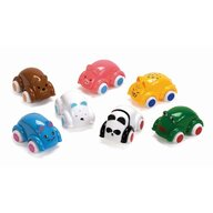 VikingToys - Set 4 masinute Animale, Cute Cars