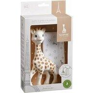 Vulli - Jucarie dentitie din cauciuc natural Cu saculet de transport Girafa Sophie