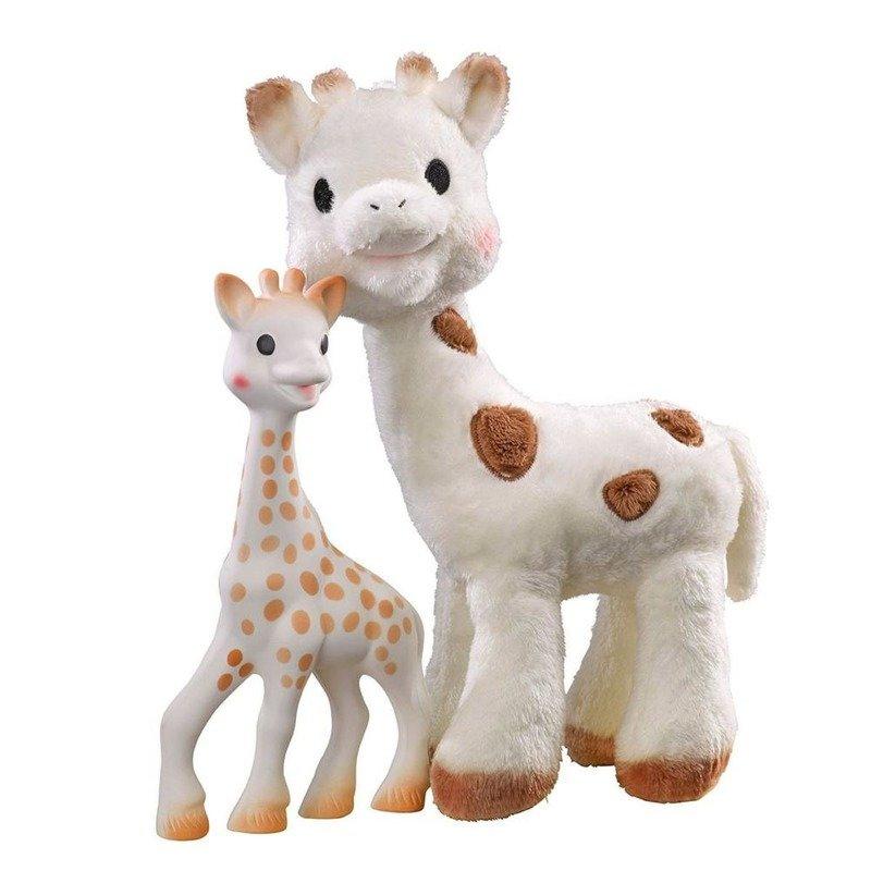 Vulli Set Sophie Cherie si Girafa Sophie din categoria Jucarii de plus de la Vulli