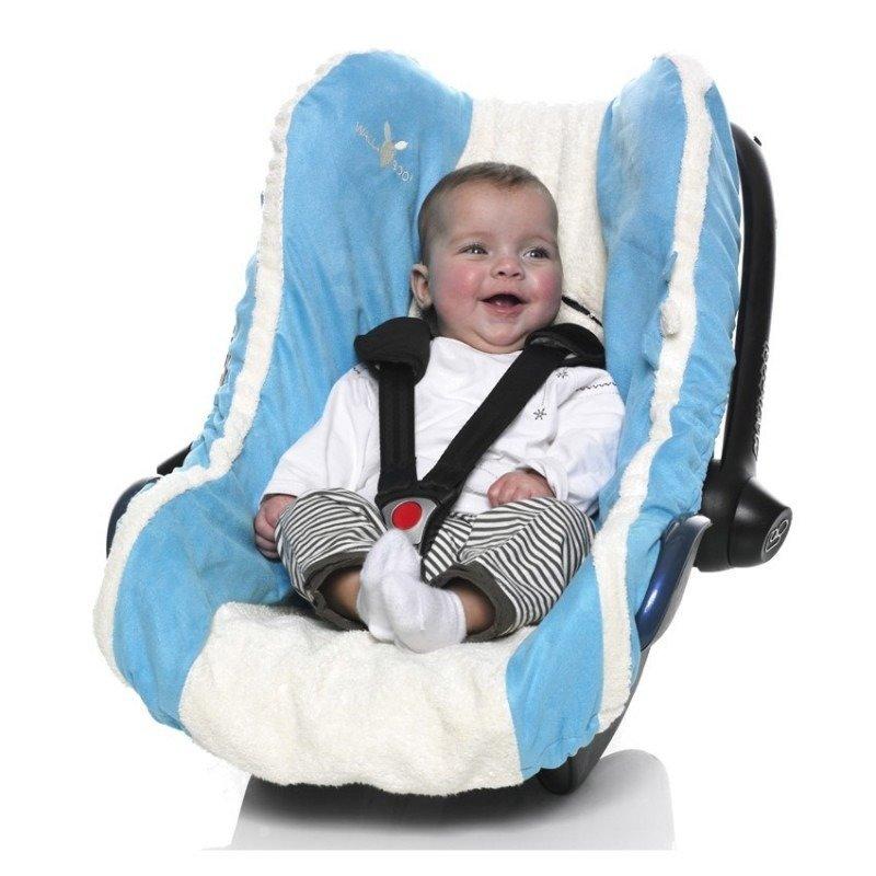 Wallaboo-Husa scaun auto grupa 0 Blue