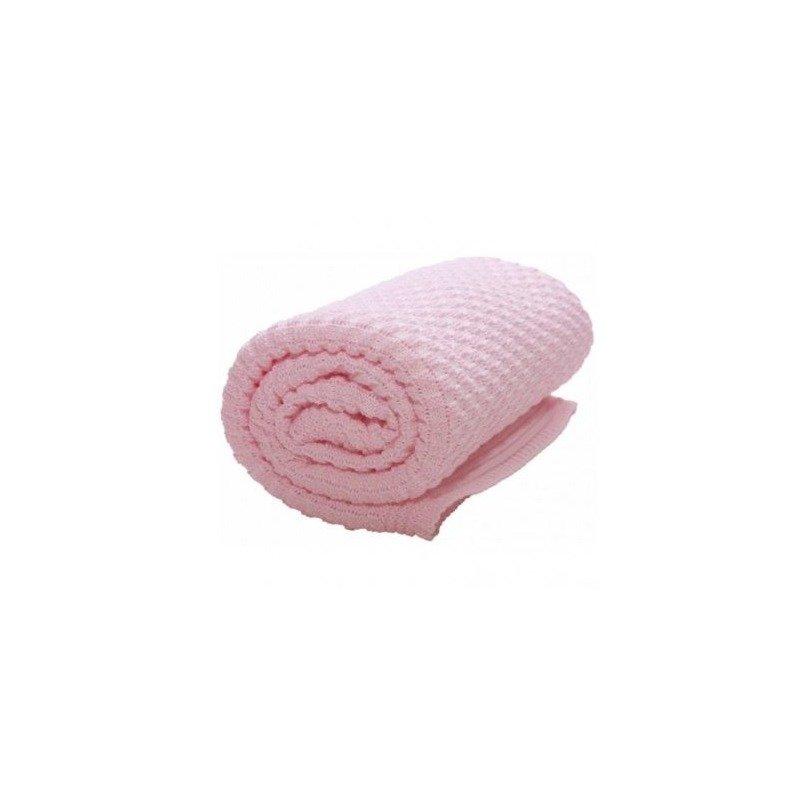 Wallaboo Paturica Eden bumbac organic pink din categoria Accesorii patuturi de la Wallaboo