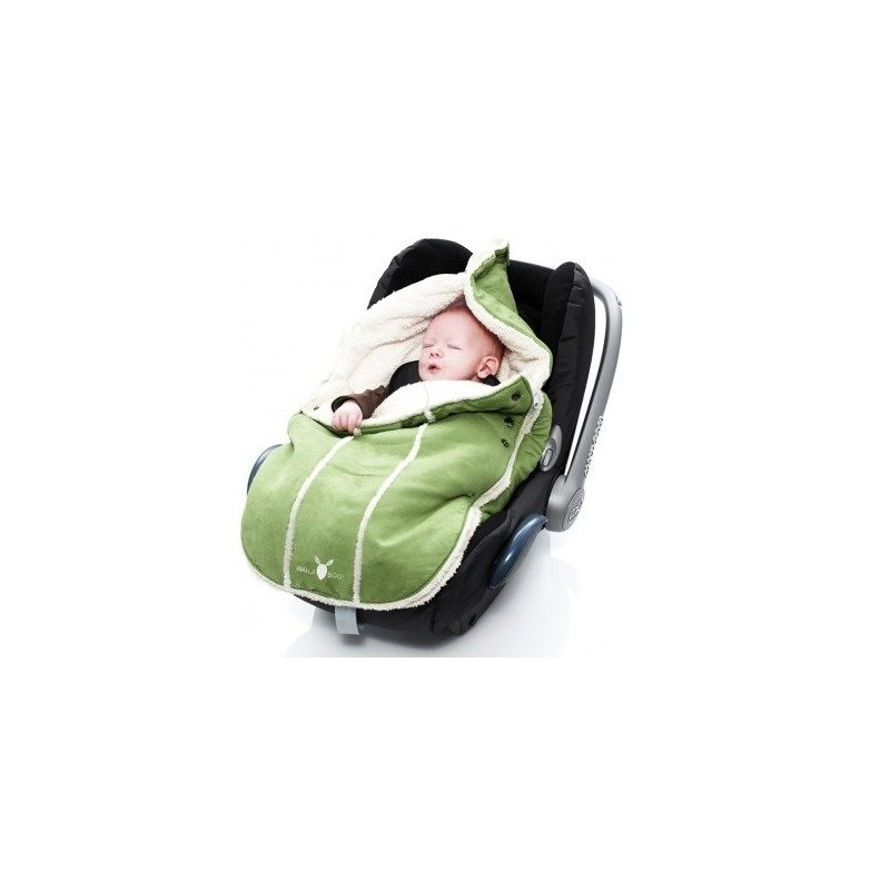 Wallaboo-Port bebe 0-12 luni Lime Green