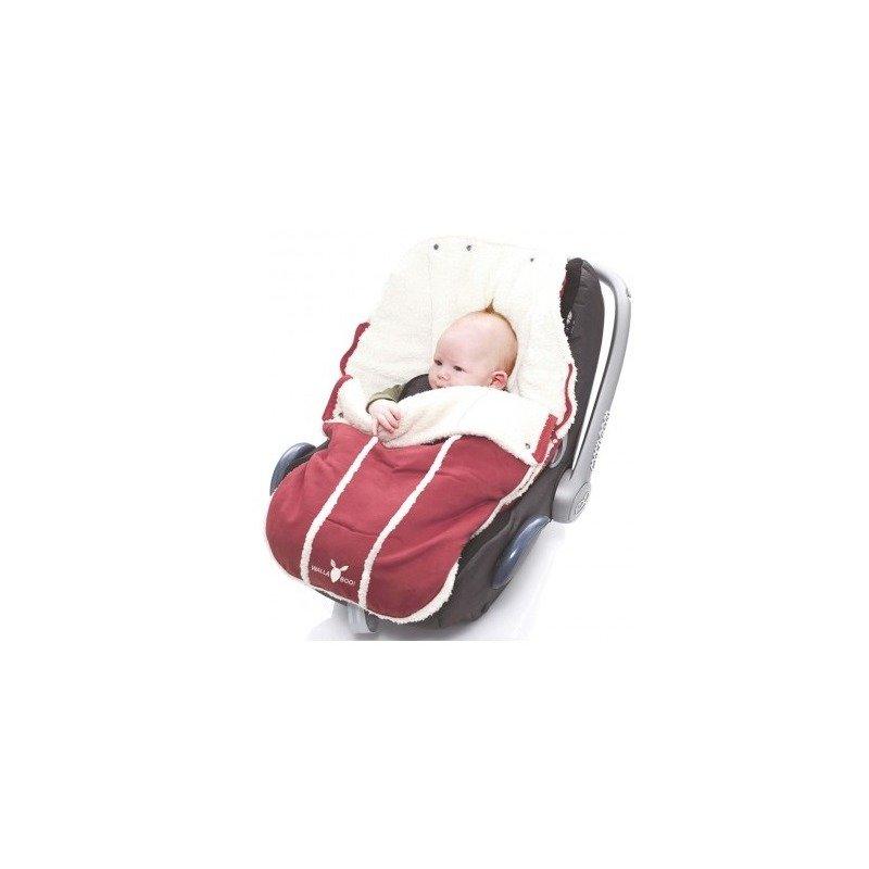 Wallaboo-Port bebe 0-12 luni Warm Red