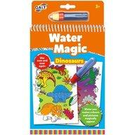 Galt - Carte de colorat Water Magic, Dinozauri